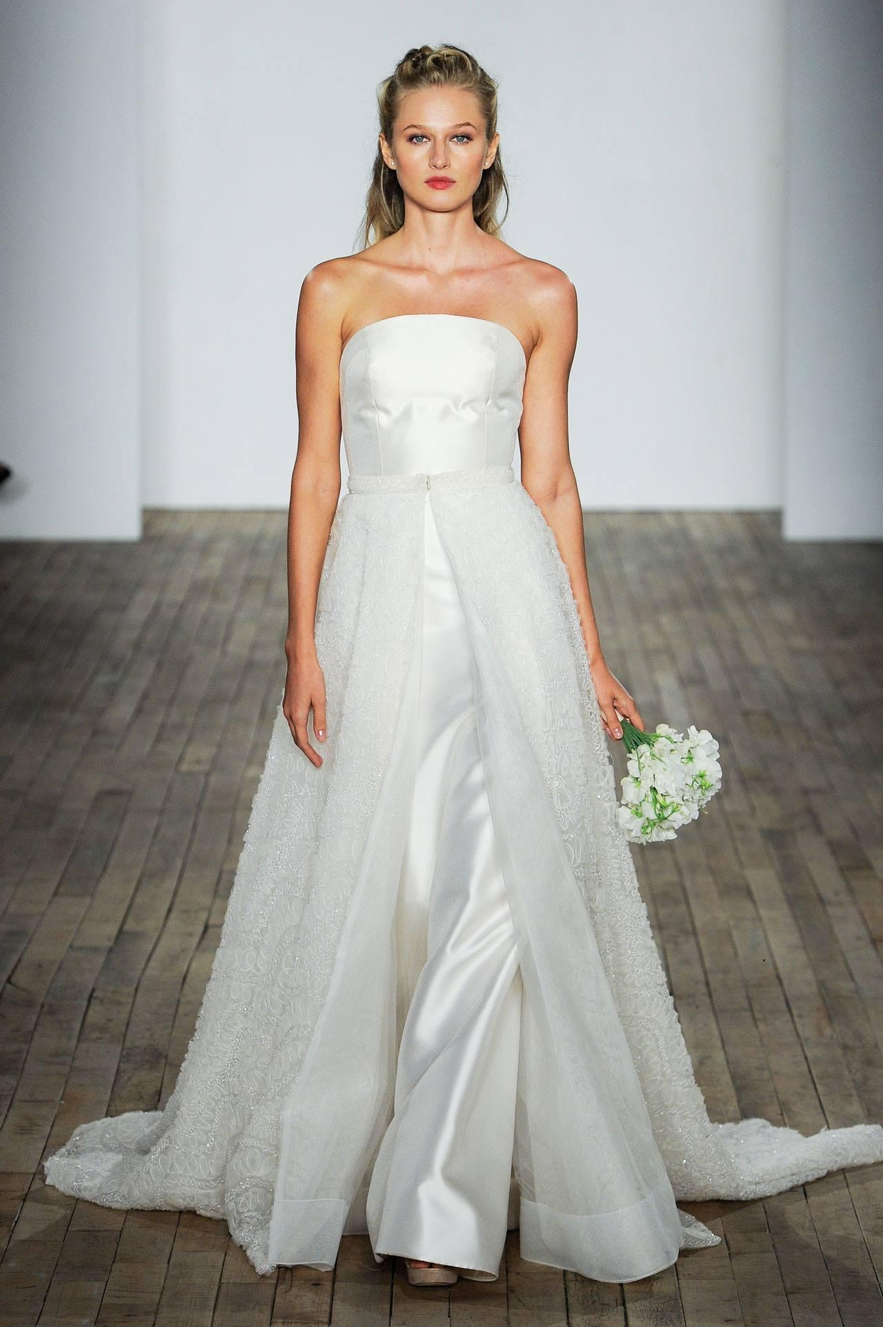 Modele de rochie de mireasa - Rochia salopeta - Wedding Consulting by Marian Ionescu