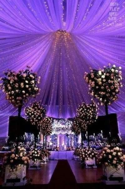 Culoarea anului 2018 - Wedding Consulting - Pantone - Lumini arhitecturale