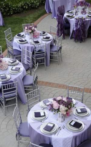 Culoarea anului 2018 - Wedding Consulting - Pantone - mese